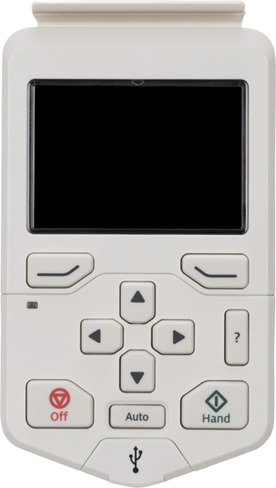 Picture of ABB ACH580 HVAC Control Panel