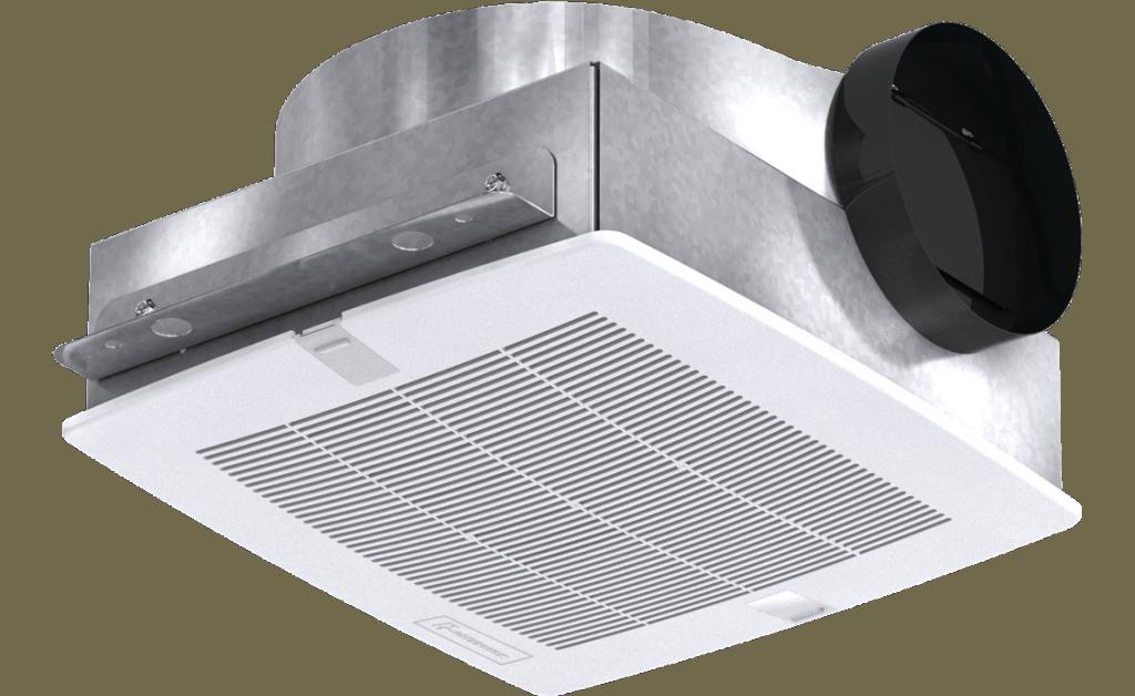 Picture of Bathroom Exhaust Fan, Low Profile, Model SP-B90, 115V, 1Ph, 57-104 CFM