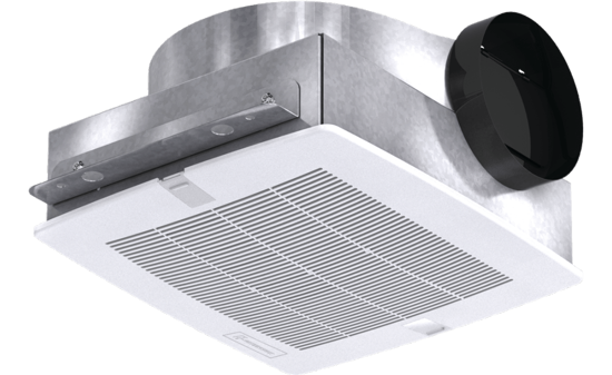 Picture of Bathroom Exhaust Fan, Low Profile, Model SP-B200, 115V, 1Ph, 128-197 CFM
