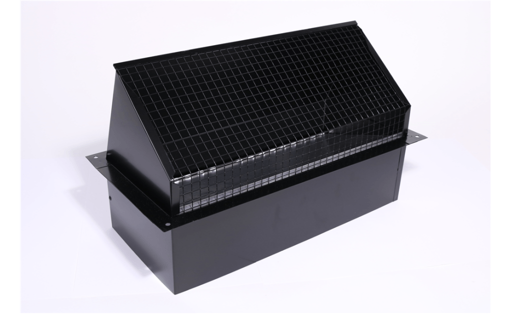 Picture of Square Connection Hooded Wall Cap (Model WC-8x8)