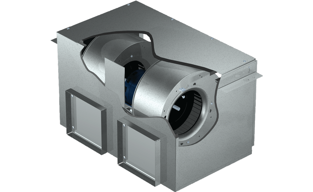 Picture of Inline Cabinet Fan, Model CSP-A700, 115V, 1 Ph, 419-766 CFM