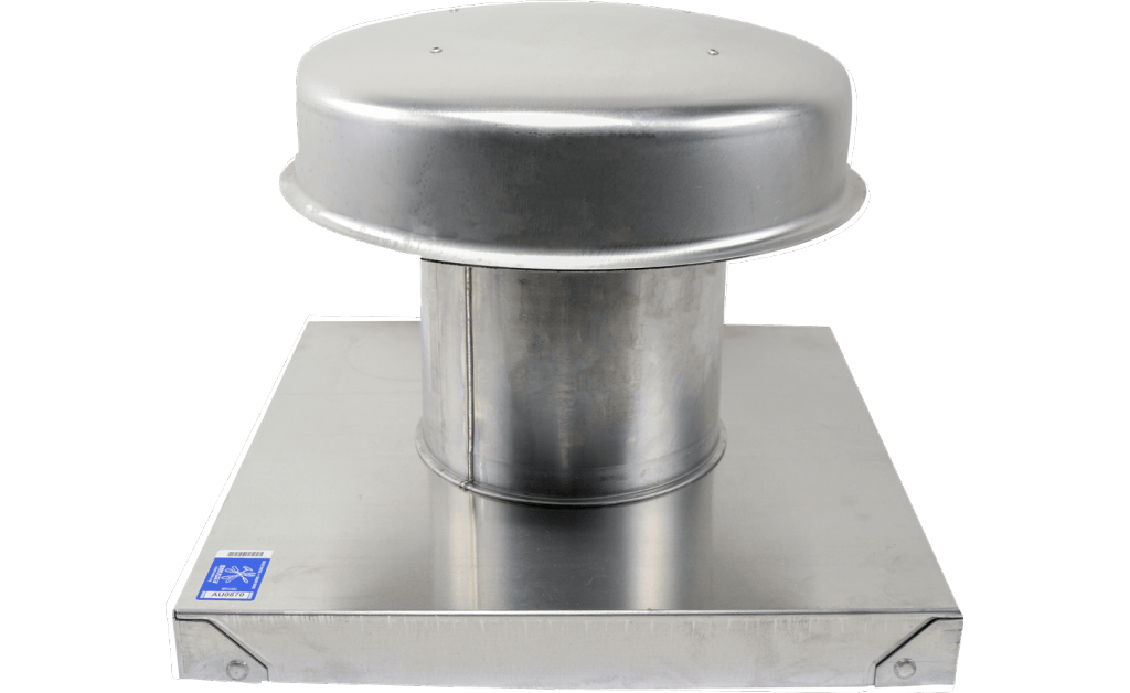 Picture of Flat Roof Cap, Model RCC-7, with Curb Cap, For Models SP/CSP