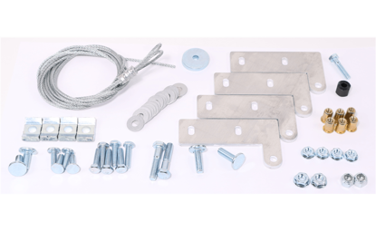 Picture of Hinge Curb Kit with Cables, For use with Models CUBE 099-200