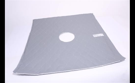 Picture of Ceramic Fiber Thermal Blanket for Ceiling Radiation Damper (24 In Sq)