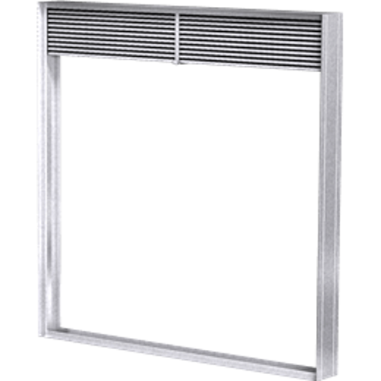 Picture of Dynamic 1.5 Hour Rated Vertical Fire Damper (View Product to Select Size)