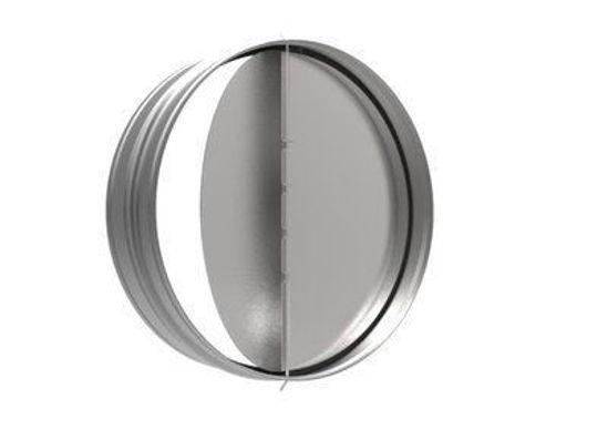 Picture of Round Backdraft Damper, 6 In. Diameter