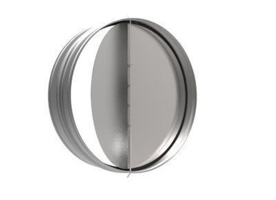 Picture of Round Backdraft Damper, 10 In. Diameter
