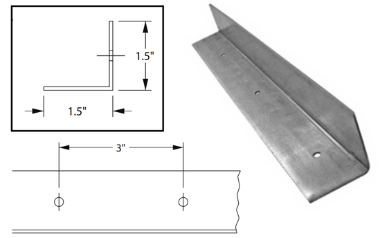 Picture of Fire Damper Angle