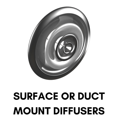 Picture for category Surface or Duct Mount Diffusers