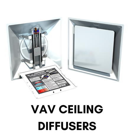 Picture for category VAV Ceiling Diffusers