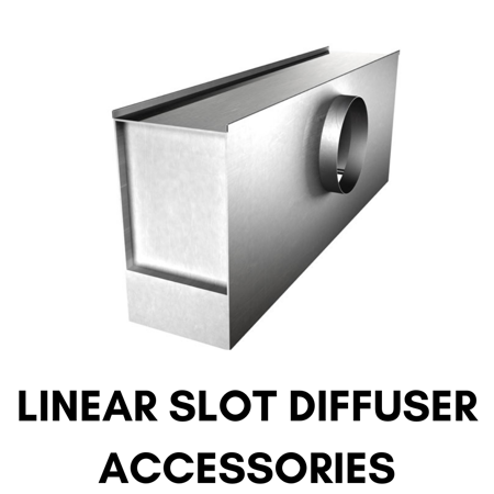 Picture for category Linear Slot Diffuser Accessories