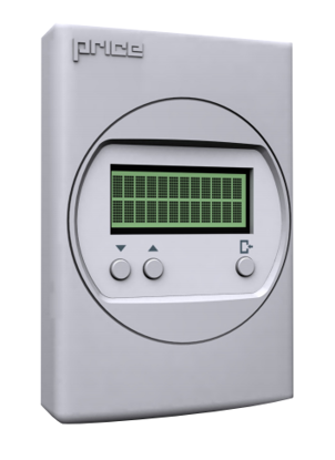 Picture of LCD Display Thermostat