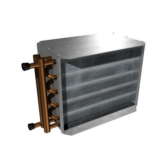 """Picture of Hot Water Reheat Coil (2 Row for 8"""" SDV)"""