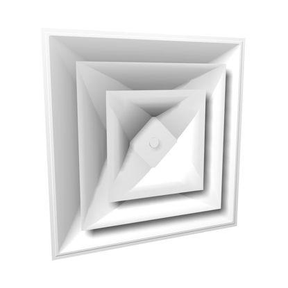 Picture of Square Cone Diffuser
